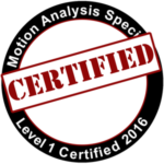 Motion Analysis Specialist Level 1 Certified